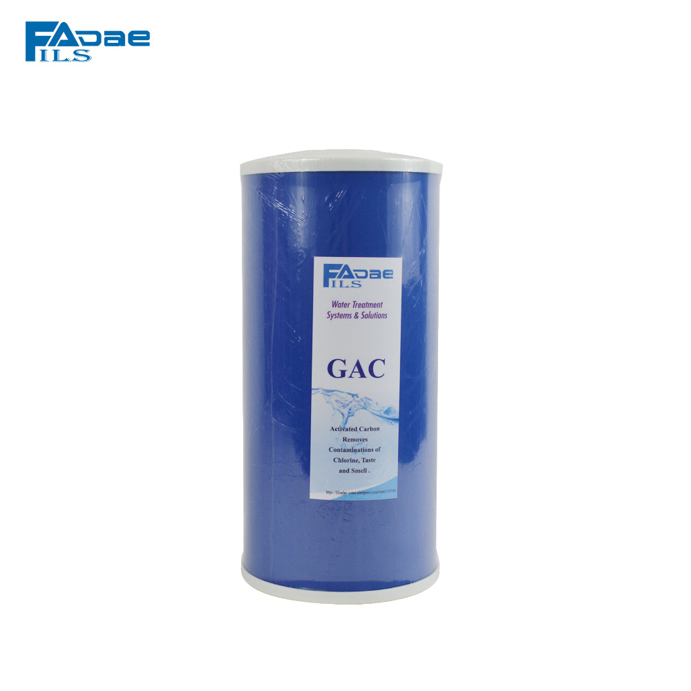 ФОТО High Flow rate big blue carbon filter 10
