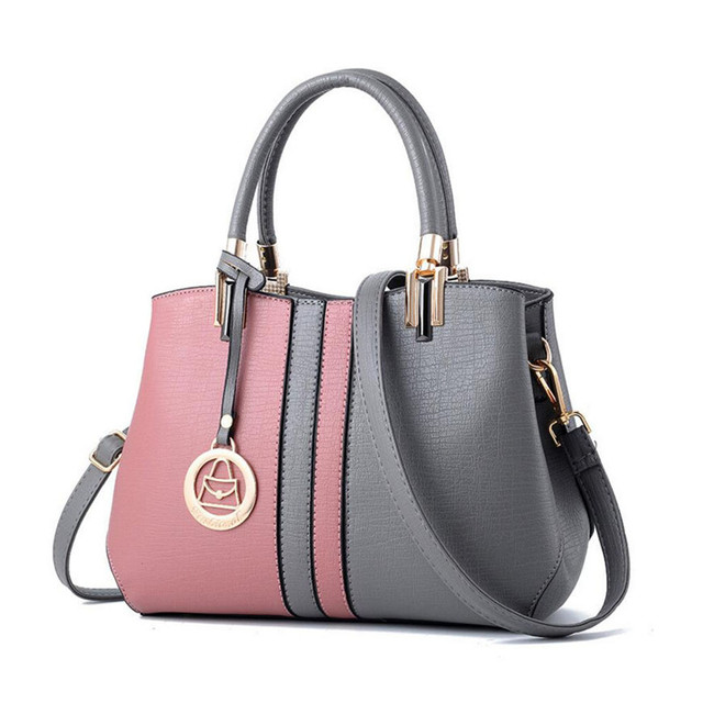7f9ba9cd0a Newest Women Top Handle Handbag Shoulder Bag lady s PU Leather Fashion  Crossbody Purses Office Party Multi colors Hand Bags