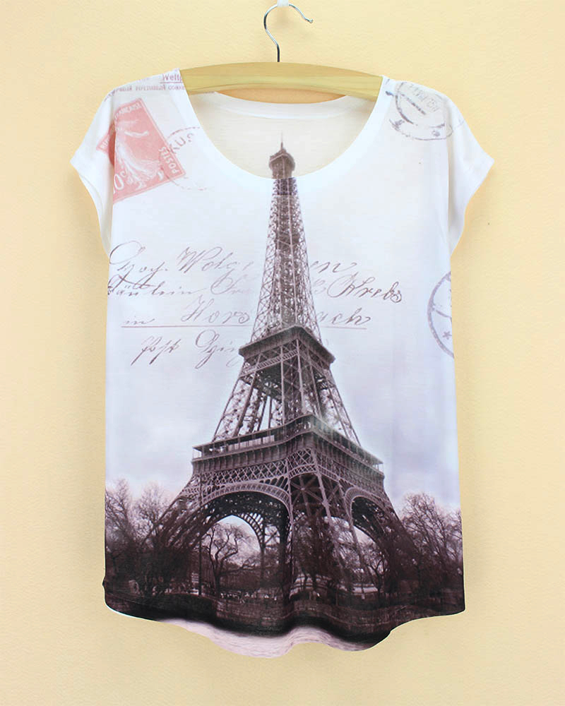 Design t shirts and sell online - Top Sale The Western Fashion Designer T Shirt Women 2015 Summer Tops Tees New Novelty