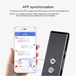 Image 5 - Portable Smart Voice Translator for Learning Travel Business Meeting 3 in 1 voice Text Languages Translator
