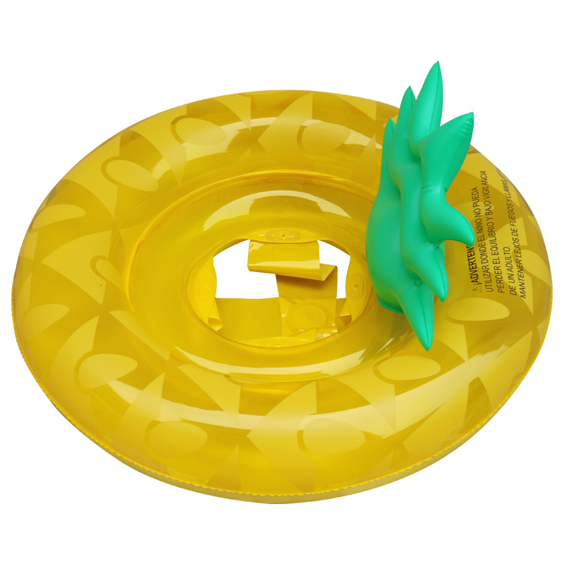 Inflatable Pineapple Swim ring Baby Pool Float Inflatable Pineapple Float child Swim Circle Kids Life buoy Pineapple ring seat