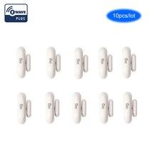 NEO COOLCAM 10 adet/grup NAS DS01Z z dalga Kablosuz Kapı/pencere Mıknatıs sensör dedektörü Akıllı Ev Için