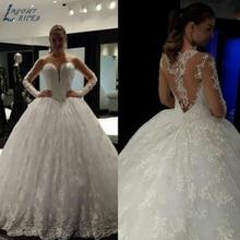 LAYOUT NICEB SHJ260 Wedding Dress 2019 Ball Gown Wedding