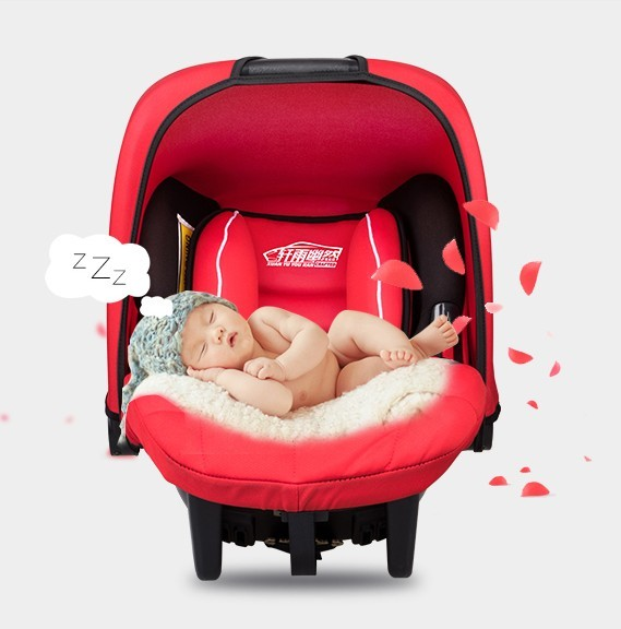 Baby basket type vehicle cradle portable chair newborn baby car seat children 0 and 1