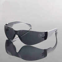 Light Safety Gray PC Protective Goggles Outdoor Windproof Ride Riding Safety Goggles Shock Resistant Glasses Eye