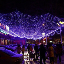 LAIMAIK 10M 100 LED String ball Lights led Lamps 220V/110V New year Garden Xmas Wedding Party christmas outdoor decoration