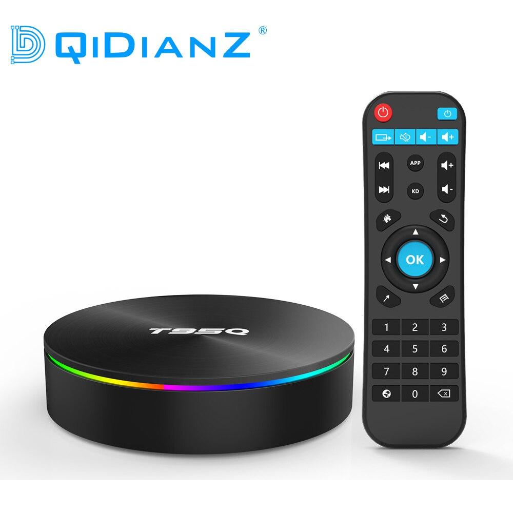 T95Q Android 8 1 TV Box Amlogic S905X2 Quad Core Smart TV Box ARM Dvalin MP2