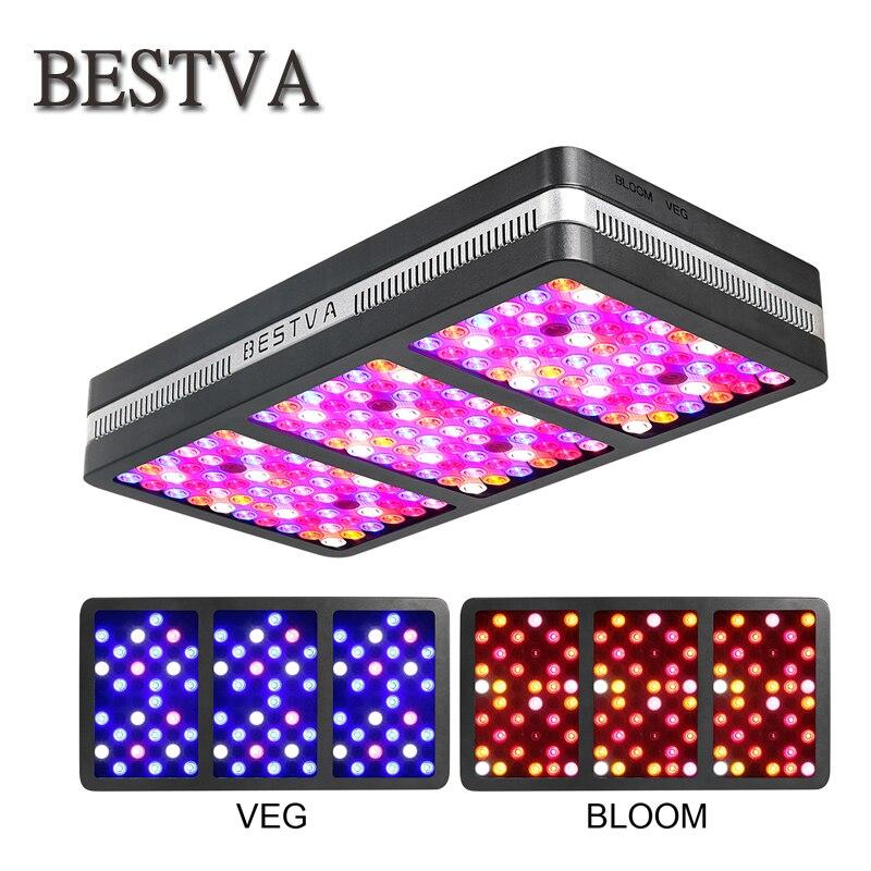 BestVA LED élèvent la lumière Elite-2000W Spectre Complet pour plantes d'intérieur remplacé 1400 w HPS lumière veg bloom mode à effet de serre Hydroponique