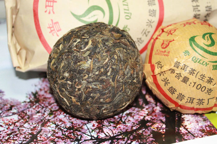 Xiaguan Puer Tea Compressed Chinese Pure Dry Tuocha Raw Pu'er Pu Erh Pu-erh For Health Care Slimming Body Skin Gift 100g