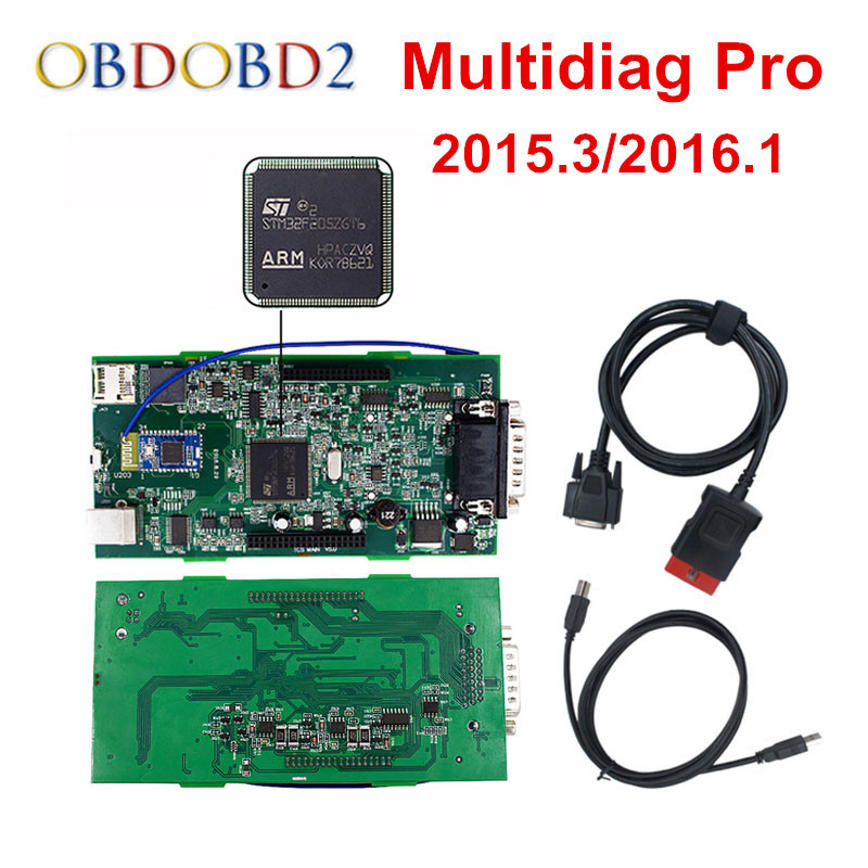 все цены на Green PCB Multidiag Pro+ Bluetooth 2015.R3/2016.R0 Free Keygen 4G TF Card For TCS 2016.0 CAR TRUCK Diagnostic Tool Free Ship онлайн