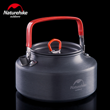 NatureHike factory sell Portable Ultra light Outdoor Camping Hiking Picnic Water Kettle Teapot Coffee Pot Anodised Aluminum