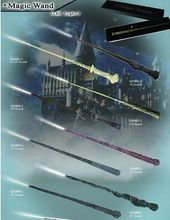 Free Shipping Christmas gift Harry Potter Alastor Moody Magical Wand New In Box(Led Light)
