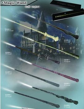 цена на Christmas Gift HP Luna lovegood Dumbledor Hermione Magical Wand New In Box With Led Light  Free Train Ticket