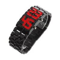 Wholesale5pcs * LED Digital Lava Relógio de Pulso Para Homens e Mulheres