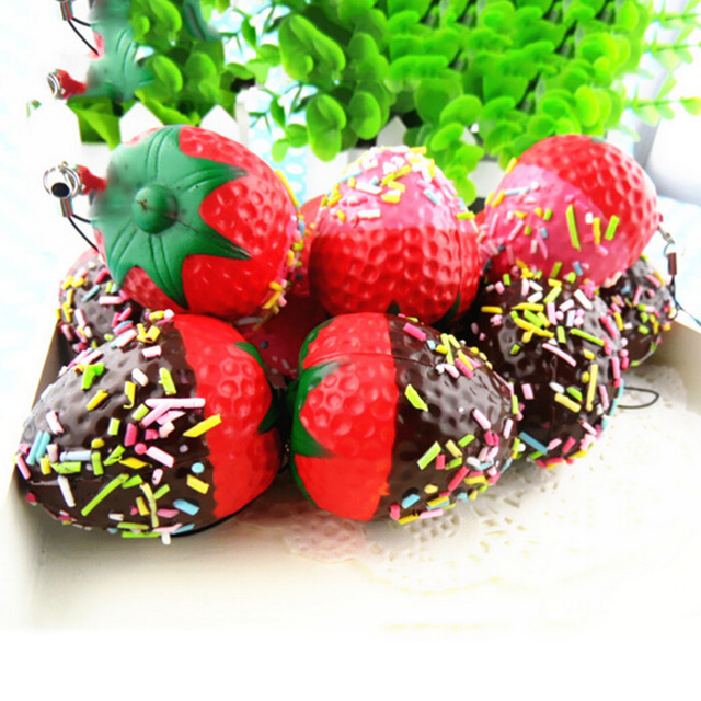 Strawberry Phone Strap