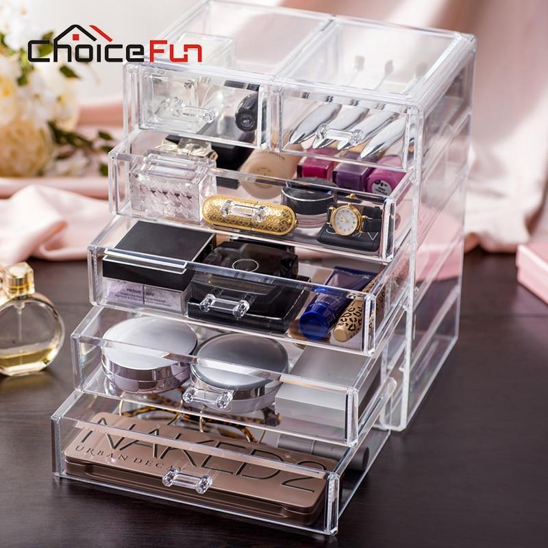 CHOICE FUN Best Selling Large Jewelry Box Drawers Acrylic Cosmetic Organizer  Glossy Makeup Organizer Drawers Organizer. Popular Acrylic Organizer Drawers Buy Cheap Acrylic Organizer