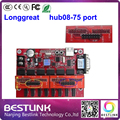longgreat led controller card supply hub08-75 port board 2pcs hub08 convert to one hub75 port for rgb led display module screen