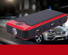 Multi-funtion Red 400A Peak Car Jump Starter 12000mAh 12V battery charger for Laptop Power Bank