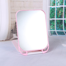 Women Beauty One Sided Round Mirror Cosmetic Home Desktop Portable Folding Mirrors Cute Princess Mini Pocket Makeup Mirror