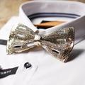 2016 mens мальчики высокой моды Swarovski костюм галстук-бабочку свадьба clubmaster галстуки оригинальный ручной работы галстуки gravata