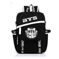 Korean Backpacks BTS Fans Mochila Printing Backpack kpop stars school bag boys girls Gift