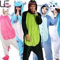 Christmas Autumn and Winter Pajama Sets Cartoon Sleepwear Women Pajama Flannel Animal Pajama Stitch Panda Unicorn Onesie