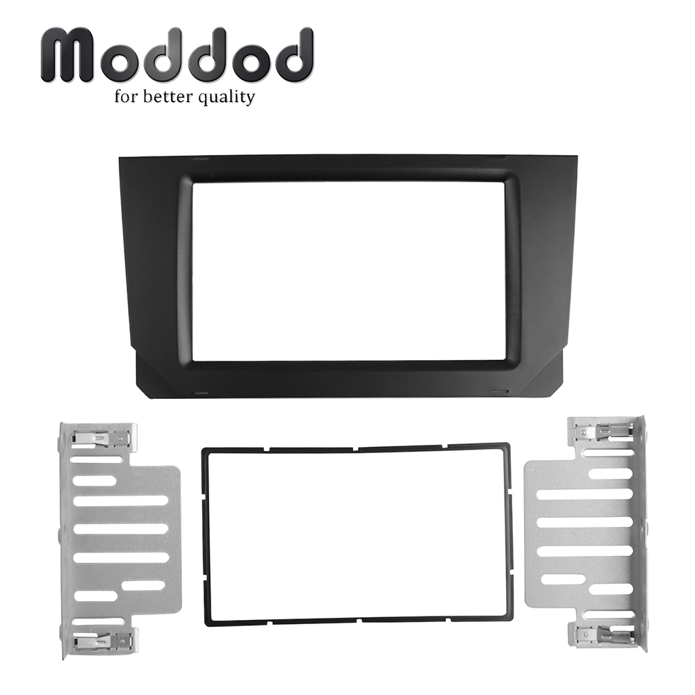 Double 2 Din Car Radio Fascias for SEAT IBIZA ARONA DVD Stereo Panel Dashboard Refit Installation