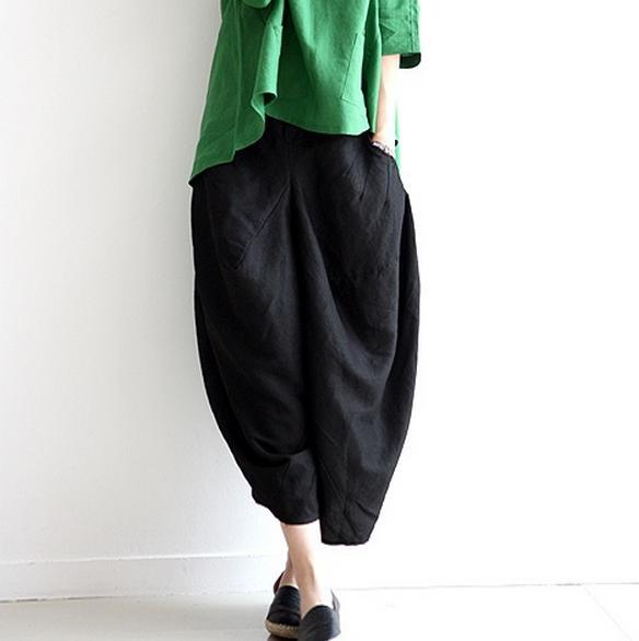 Amazing Summer Plus Size Womens Pants Ladies Loose Casual Linen Pants Women