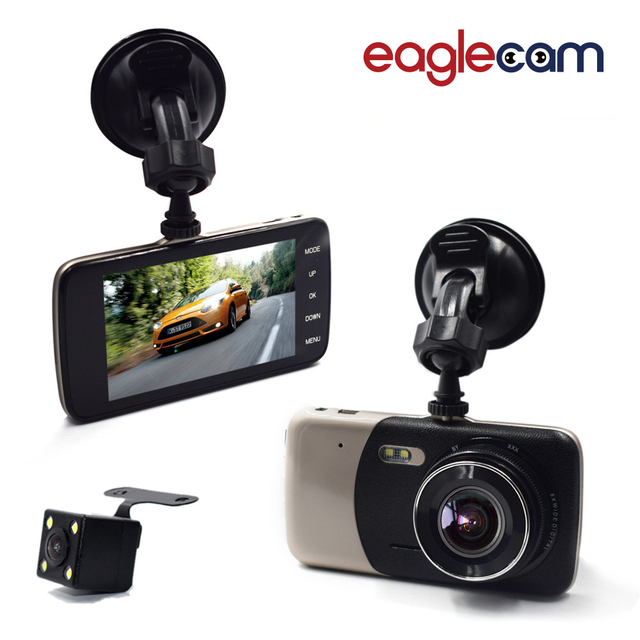 2017 New 4.0 Inch IPS Screen Car DVR Novatek Car Camera T810 Oncam Dash Camera Full HD 1080P Video 170 Degree Dash Cam