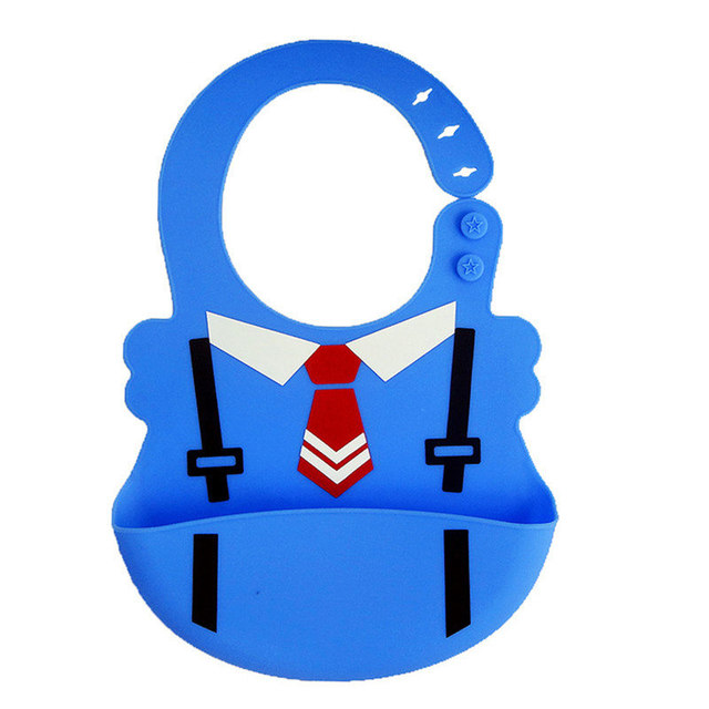 Baby Waterproof Silicone Bibs Toddler Tie aprons Food-grade silicone Bibs For Children Feeding Care