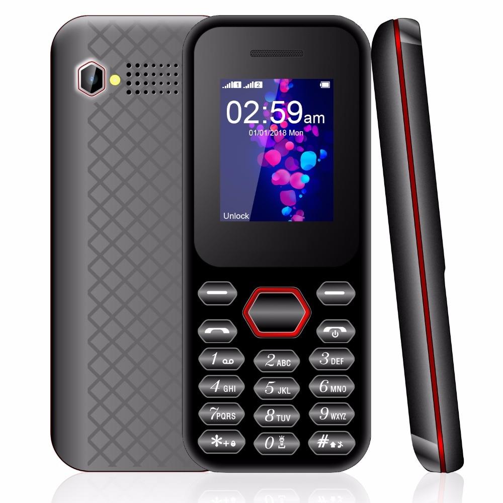 "2G 1.8"" Dual Sim MP3/MP4 Player Video Recording Bluetooth 1200mah Keyboard Button Mobile Phone Cheap Push Button Telephone"