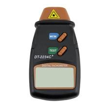 Дропшиппинг диагностический инструмент цифровой лазерный тахометр RPM метр Бесконтактный мотор станка Скорость датчик революция спин
