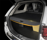 For Mitsubishi Pajero Sport 2016 2017 2018 2019 Rear Trunk Security Shield Cargo Cover Shade Security Car Accessories