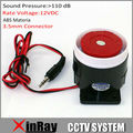 Security Alarm Siren Horn WS01 Speaker 110dB for Home PTSN GSM Alarm System Security Home