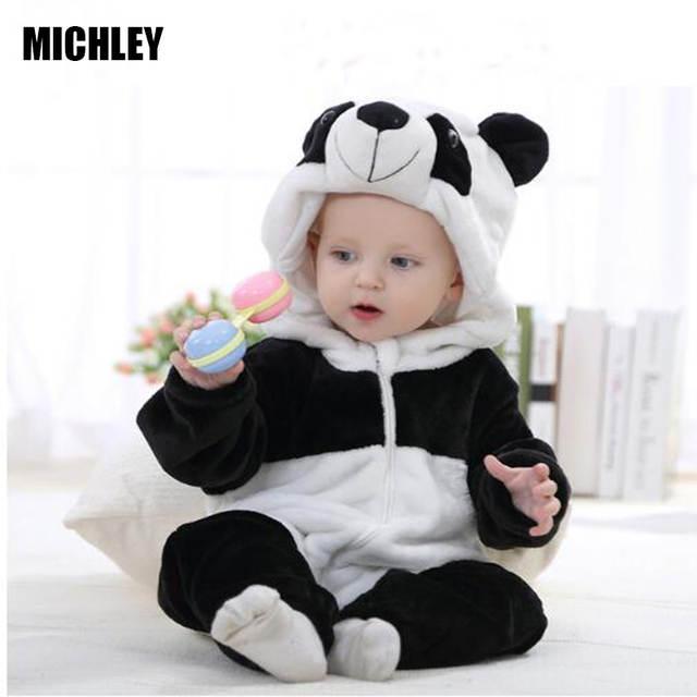 3ab6e00781 placeholder MICHLEY mameluco infantil bebé niños niñas mono recién nacido  Bebé Ropa con capucha Niño ropa de