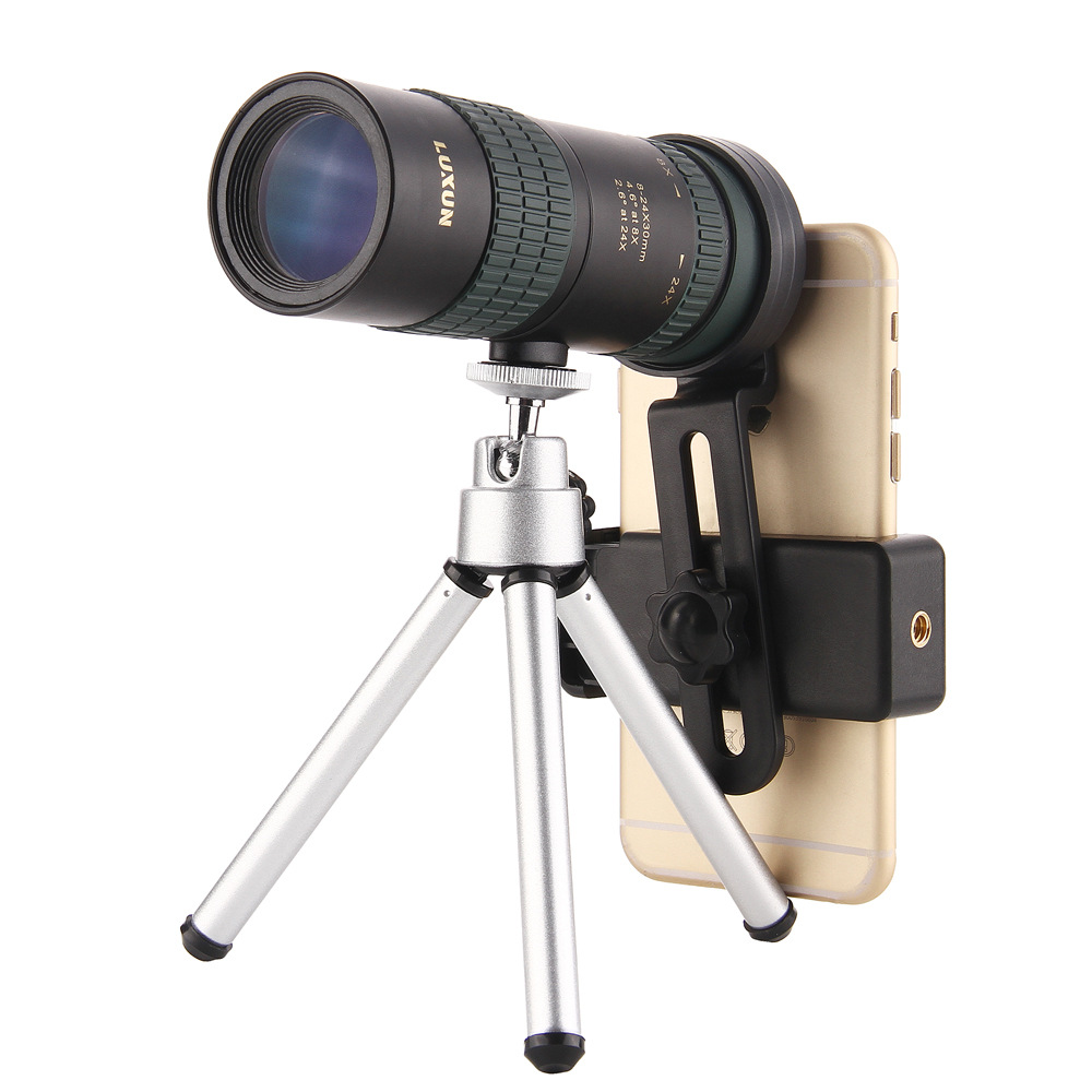 2019 Original Binoculars High Power HD Zoom Monocular Precise Telescope Pocket Binoculo Hunting Optical Prism Scope Phone Lens in Mobile Phone Lens from Cellphones Telecommunications