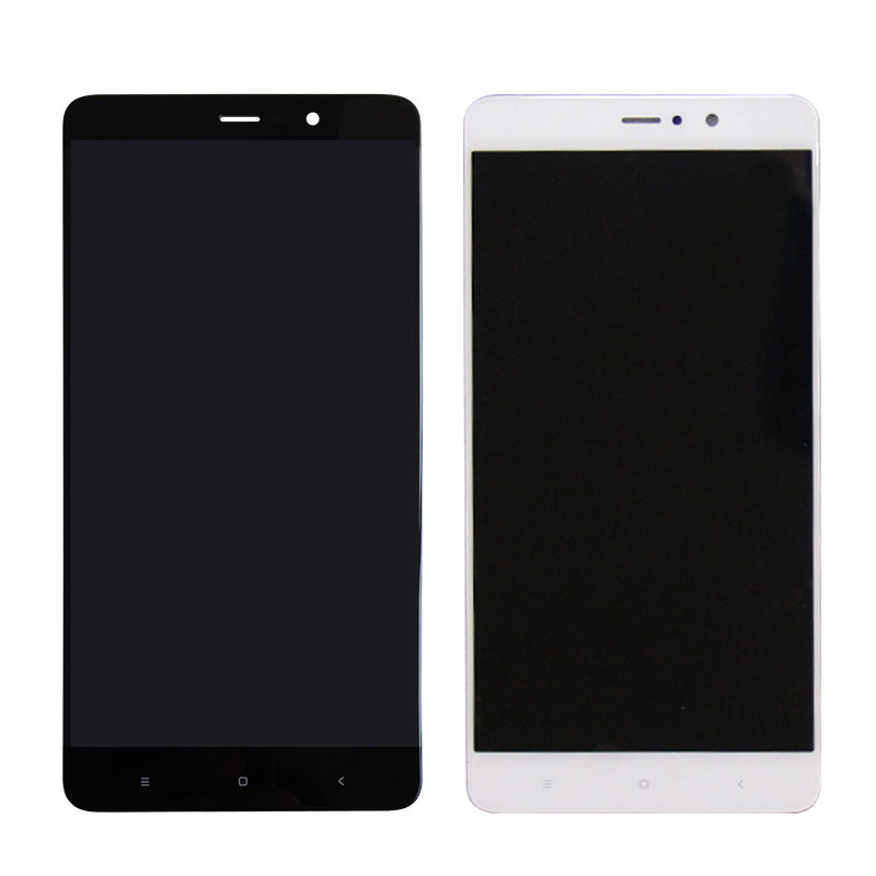 Black Color : Black LCD Screen Mobile Phone for Xiaomi Mi 5s Plus and Digitizer Full Assembly