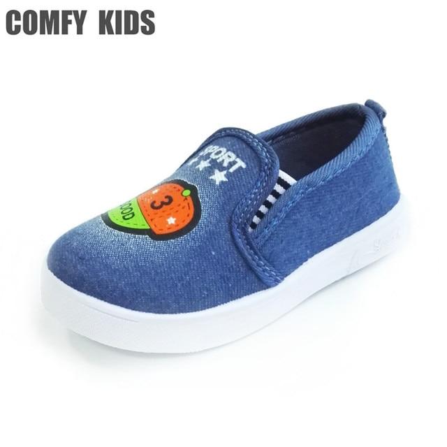 Enfants Toile Chaussures Respirant Garçons Chaussures Plates Casual nkHHbFg