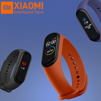 Original Xiaomi Mi Band 4/Miband 3 Mp3 Music fuction color screen 5ATM Waterproof Fitness Heart Rate Bluetooth 5.0 Smartwatch