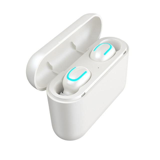 TWS Wireless Bluetooth 5.0 Sport Mini Earbuds Earphone wireless sports bass bluetooth earphone with mic 2