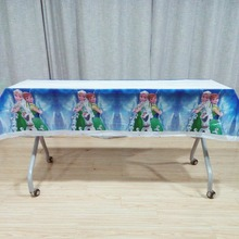 108cm*180cm Frozen Anna Elsa Birthday Party Supplies TableCloth Favor Kid Girls birthday Table cloth Baby Shower Decoration