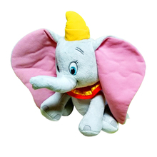 1 pc 30cm Dumbo Elephant Cartoon Doll Creative Soft Baby Acommpany Toys  0-12 Months Mobile Toy