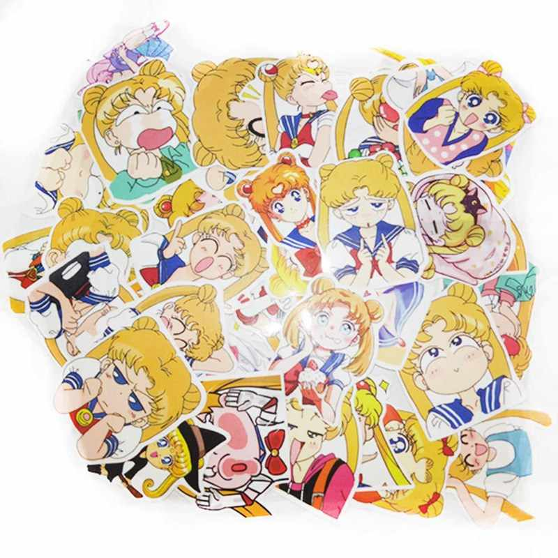 Detail Feedback Questions About 40pcs Pack Anime Sailor Moon Sticker