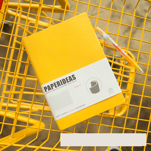 Dotted Notebook Journal Planner Agenda Binder Blank Grid Daily Schedule Organizer Brief Lines School Stationery Students