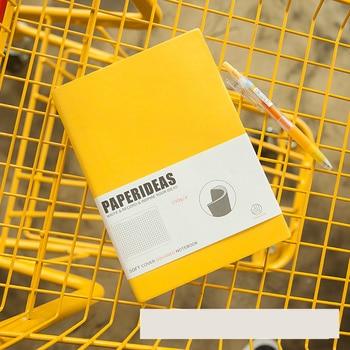 Gestippelde Notebook Bullet Journal Planner Agenda Bindmiddel Blank Grid Dagelijkse Schema Organizer Korte Lijnen School Briefpapier Studenten