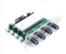Bilgisayar Pc PCI Fan hız kontrolörü anahtarı PC 4 kanal 3 pin tel soğutma fanı hız kontrol ayarlamak