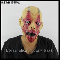 New Halloween Angry Zombie Horror Mask Full Face Cosplay Ghost Mask Horror Scary Mask Prank Prop