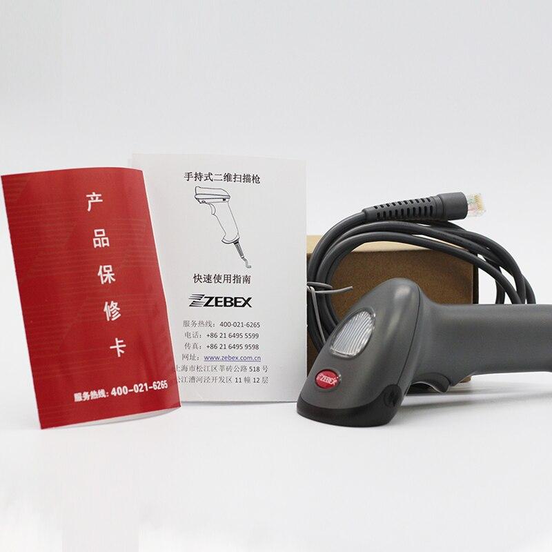 1D & 2D barcode scanner USB Zebex Supermarkt Handheld Code Scanner Bar Code Reader QR Code Reader Z3162/Z3160