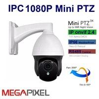 Cctvビデオ監視ipカメラptz 1080 p 2mpネットワークカメラミニパンチルトズーム電動オートフォーカス2.8-8ミリメートルセキュリティシステム