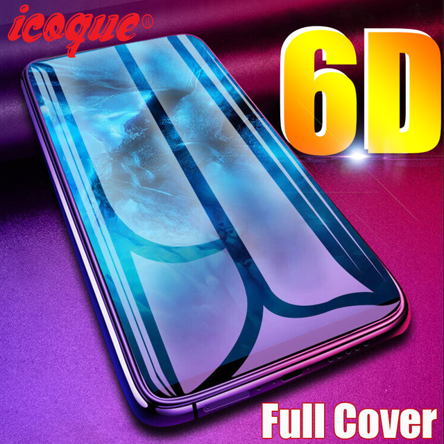 6D Protective Glass for iPhone se 2020 11 Pro Max 8 7 6s Screen Protector 3D iphone8 Tempered Glass for iPhone 7 8 6 Plus XS XR